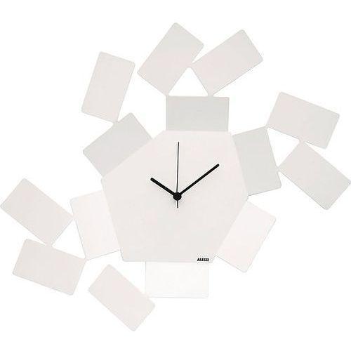 Zegar ścienny la stanza dello scirocco biały marki Alessi