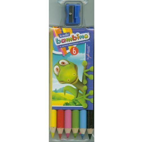 Kredki 6 kolorów + temperówka Bambino (5903235000232)