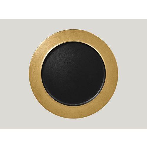 Rak Talerz płaski z rantem 320 mm, złoty | , metalfusion