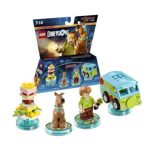 LEGO DIMENSIONS-TEAM PACK 71206 - SCOOBY DOO, B95C-673E9