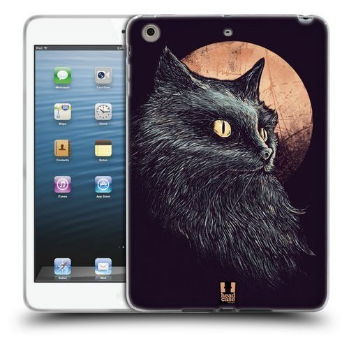 Head case Etui silikonowe na tablet - cats of goth orange moon