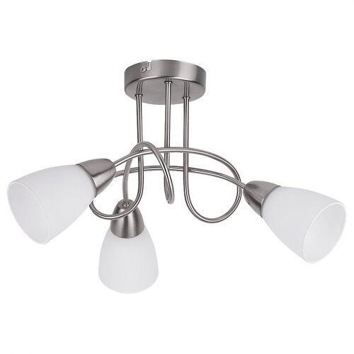 Plafon lampa sufitowa polla 3x40w e14 satyna 6078 marki Rabalux