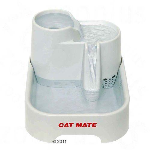 Cat mate poidełko fontanna - białe