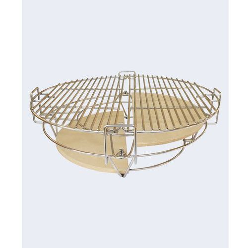 Kamado Wielofunkcyjny dwustrefowy system grillowania do grilla - grill kamado big