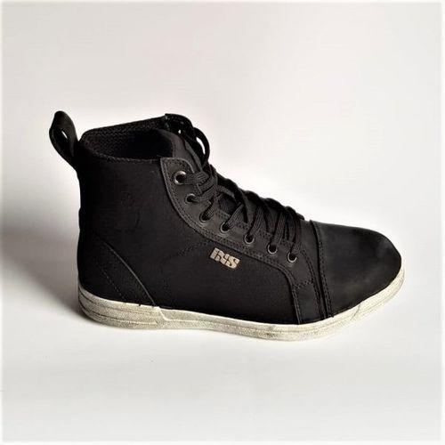 buty motocyklowe sneaker nubuk-cotton 2.0 black marki Ixs