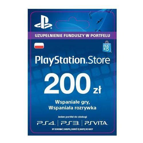 Sony  playstation network 200 zł [kod aktywacyjny]