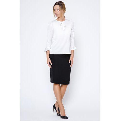 Czarna spódnica ołówkowa do biura - marki Far far fashion