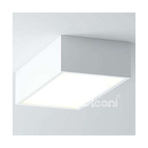 Cleoni Lampa sufitowa belona 1303npleez9+kolor 4000k natynkowa oprawa prostokątna led 36w plafon