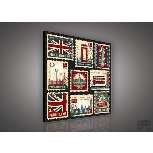 Obraz Brytyjskie znaczki pocztowe PP481, kup u jednego z partnerów