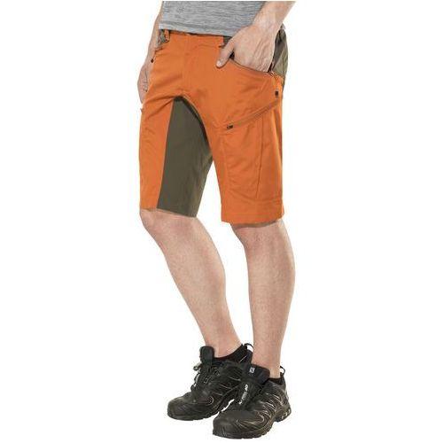 Lundhags makke spodnie krótkie mężczyźni pomarańczowy 48 2018 szorty turystyczne
