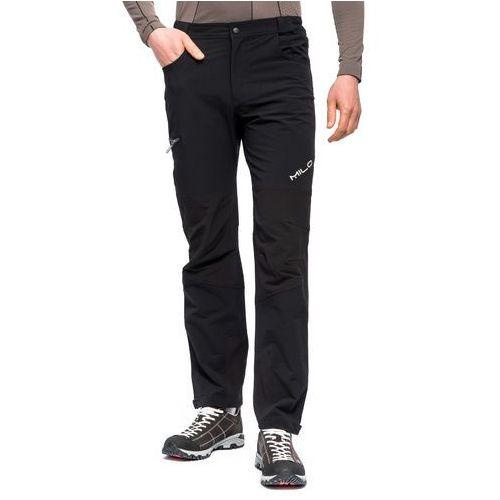 Milo Spodnie trekkingowe tacul - black