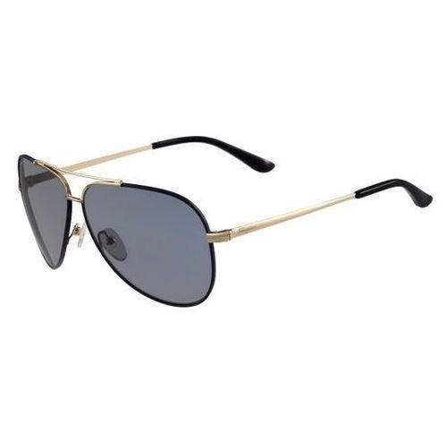 Salvatore ferragamo Okulary słoneczne sf 131sg 727