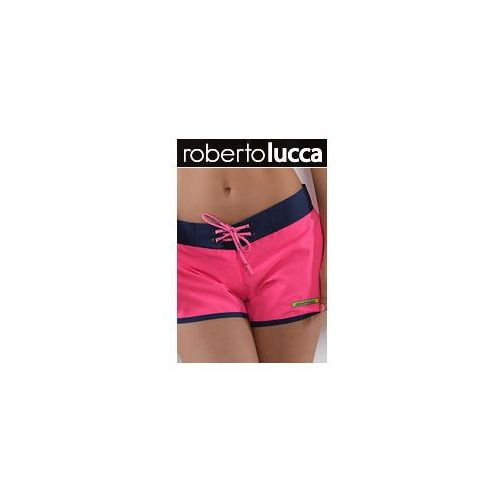 ROBERTO LUCCA Szorty RL13129 HAWAI hot pink, kolor różowy