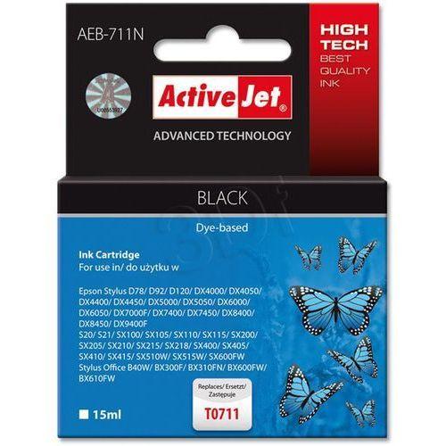 Activejet Tusz aeb-711 zamiennik epson c13t071140 (5904356294371)