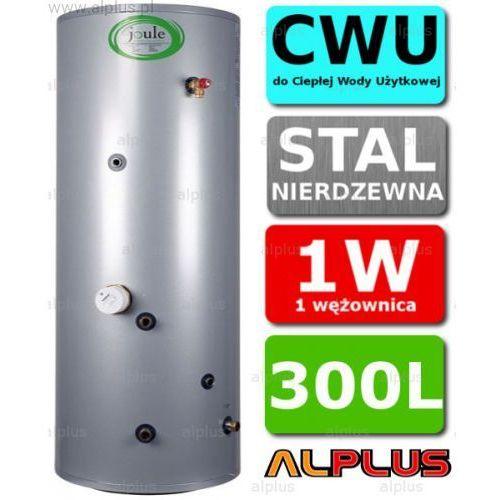 Bojler JOULE Cyclone 300L SLIM 1-wężownica nierdzewny wymiennik, podgrzewacz CWU, 204cm x 54cm, Wysyłka GRATIS, TCPMVI-0300LFD