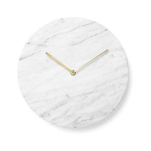 Menu Zegar ścienny marble carrara