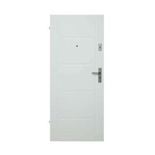 Drzwi wejściowe MASTER 06 Białe 90 Lewe DOMIDOR (5908305872986)