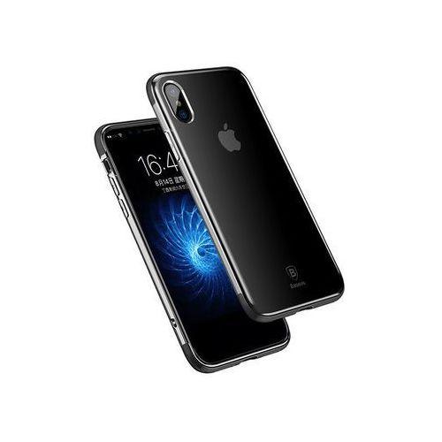Etui armor case do apple iphone x czarne marki Baseus