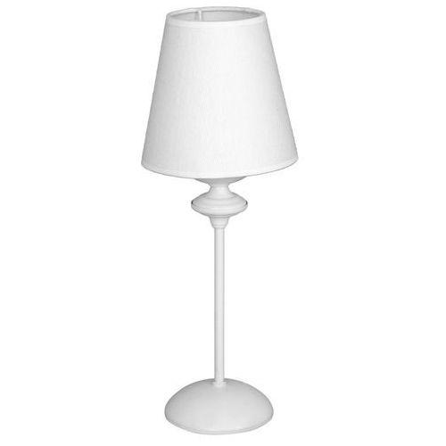 Aldex rafaello 932b lampka stołowa 1x40w e14 biała
