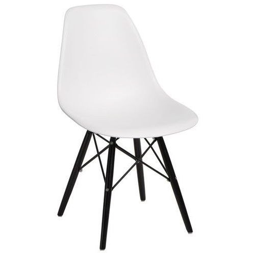 Krzesło P016W białe/black, kolor biały