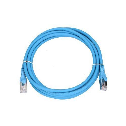 EXTRALINK Patchcord LAN Kat.6A S/FTP 10Gbit/s 3m Miedź Kabel sieciowy skrętka (5902560366570)