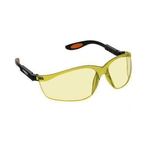 Neo 97-501 okulary ochronne poliwęglanowe, żółte soczewki (5907558406894)