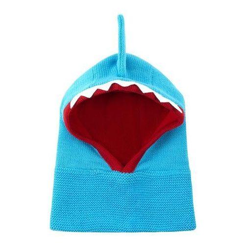 Zoocchini czapka komin rekin 6-12m