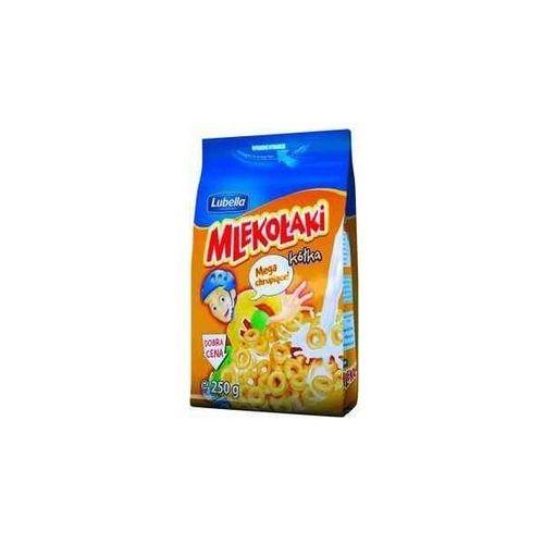Zbożowe chrupki miodowe mlekołaki kółka miodo 250 g marki Lubella