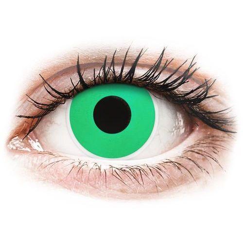 Maxvue vision Soczewki kolorowe zielone emerald green crazy lens 2 szt. (9555644810672)