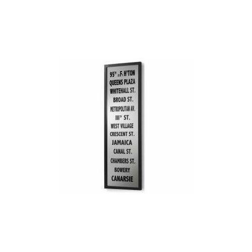 LaForma:: Lustro z nadrukiem CARLS 45 x 145 cm
