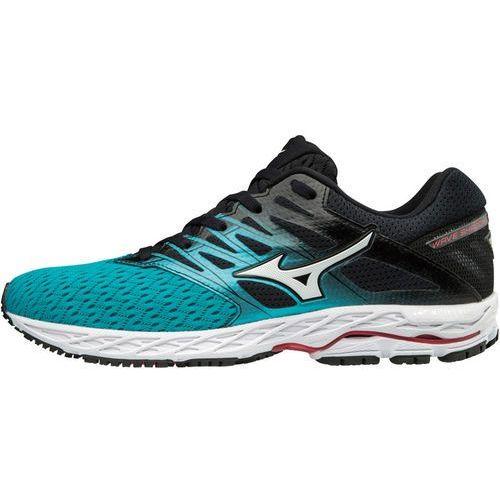 Mizuno wave shadow 2 buty do biegania kobiety czarny/turkusowy uk 4,5 | eu 37 2018 buty szosowe (5054698480182)