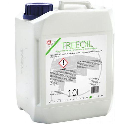 Gricard Treeoil 10l - środek z mydłem do mycia podłóg drewnianych olejowanych
