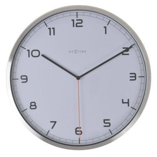 Zegar ścienny Company 35 cm Arabic biały, kolor biały