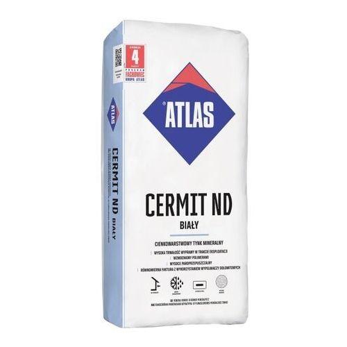 Tynk mineralny Atlas baranek 2 mm biały 25 kg (5905400159332)
