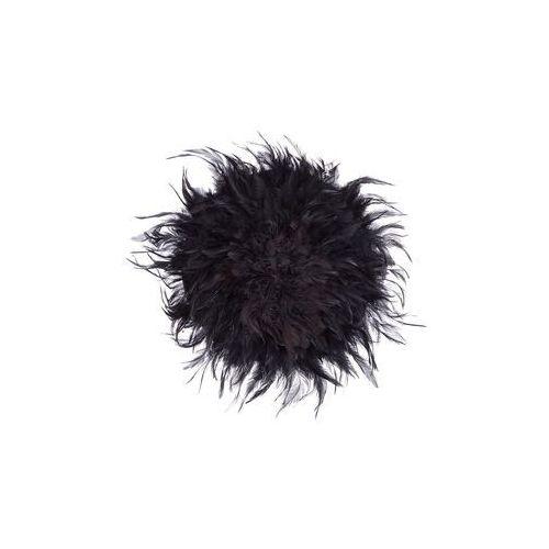 Beliani Dekoracja ścienna czarna Ø40 cm juju