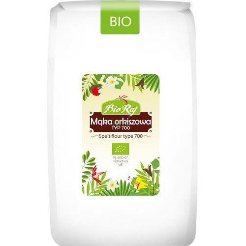 Bio raj Mąka orkiszowa bio biała typ 700, 1kg bioraj (5907738152511)