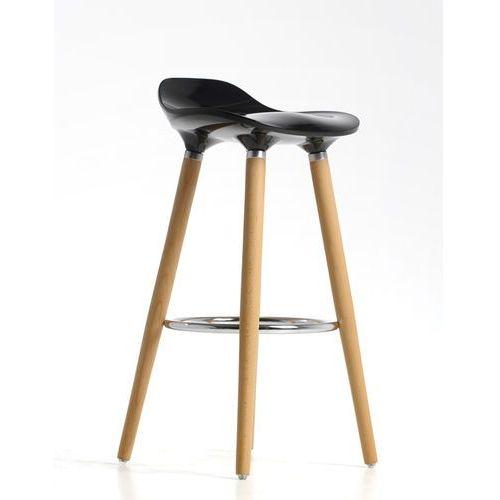 Hoker, krzesło barowe perfect black marki Inspirowane
