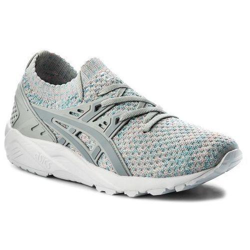 Sneakersy ASICS - TIGER Gel-Kayano Trainer Knit HN7M4 Glacier Grey/Mid Grey 9696, kolor szary