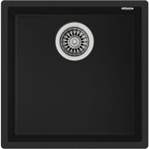 zlew podwieszany square 40.40 tg czarny marki Teka