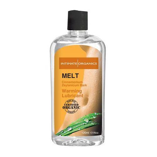 Lubrykant rozgrzewający - Intimate Organics Melt Warming Lubricant 120 ml
