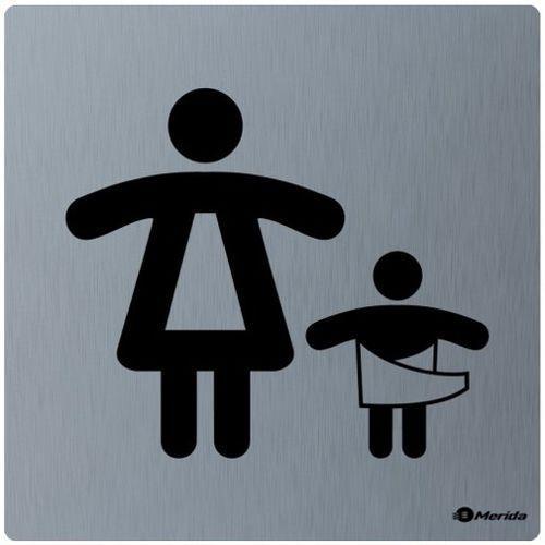 Piktogram pomieszczenie dla matki z dzieckiem Merida