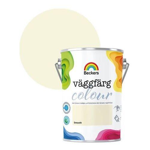 Farba lateksowa Beckers Vaggfarg Colour smooth 5 l (5902829032659)