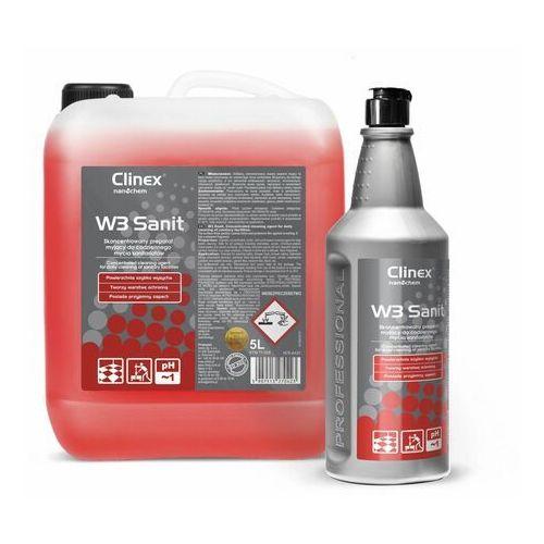 W3 Sanit Clinex 1l - Skoncentrowany preparat myjący do codziennego mycia sanitariatów