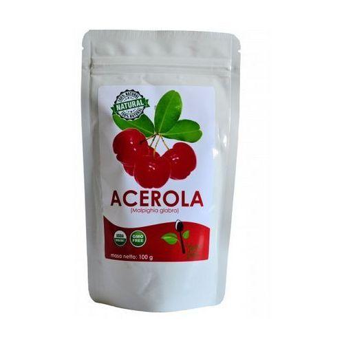Acerola 25% sproszkowany ekstrakt z owoców aceroli 100g wyprodukowany przez Kenay ag