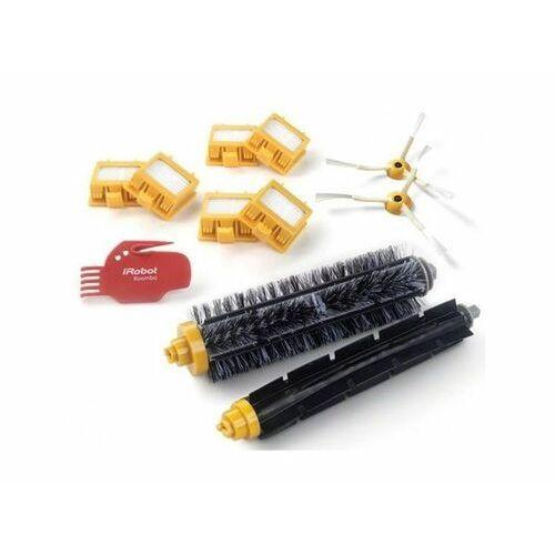 Irobot zestaw 3x2 filtry dual aerovac, 2 wirujące szczotki boczne,narzędzie czyszczące, szczotka główna i gumowa - do urządzenia roomba serii 700 (5060359284617)