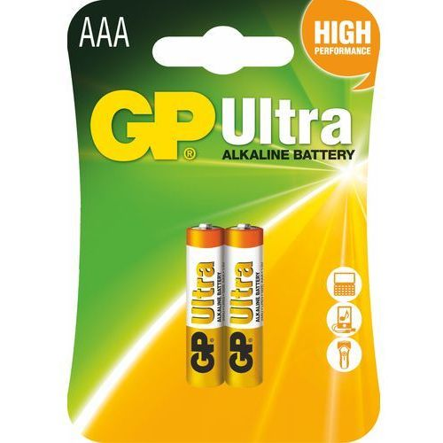 Gp battery Bateria ultra alkaline lr03/aaa (2 szt.)