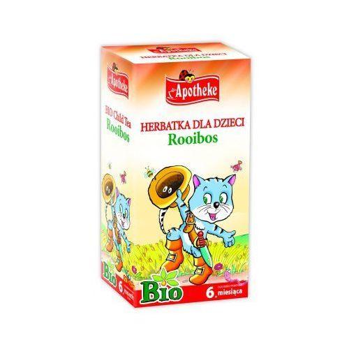 Apotheke Herbata dla dzieci rooibos bio, ekspresowa 30g