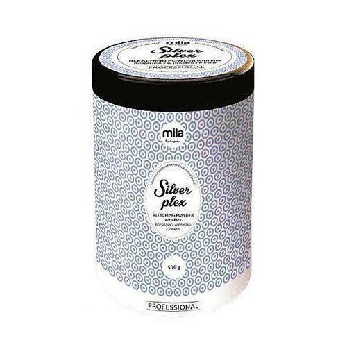 Mila silver plex, rozjaśniacz do włosów w proszku, profesjonalny 500g (5907222905548)