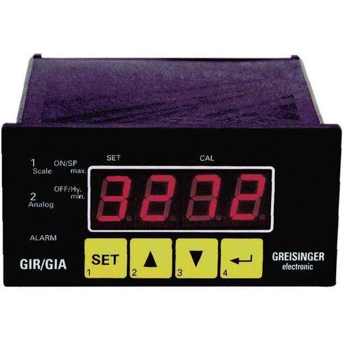 Wskaźnik panelowy, regulator  gir 2002, uniwersalny, 5 funkcji marki Greisinger