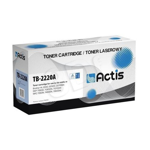 Actis Toner tb-2220an czarny do drukarek brother (zamiennik brother tn-2220) [2.6k]